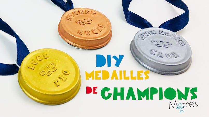 Fabriquer des médailles de champions