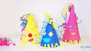 Fabriquer des petits chapeaux de fête !
