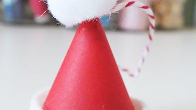 Fabriquer un bonnet de Père Noël