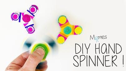 diy hand spinner