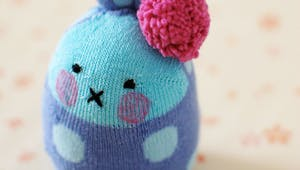 Fabriquer un lapin avec une chaussette