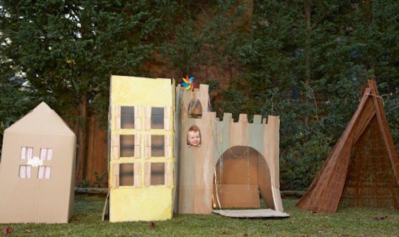 Fabriquer une cabane