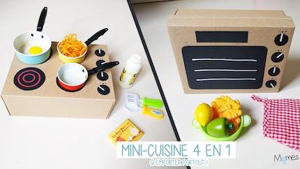 Fabriquer une cuisine avec une boîte à chaussures