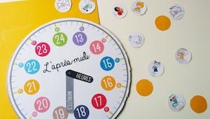 Fabriquer une horloge