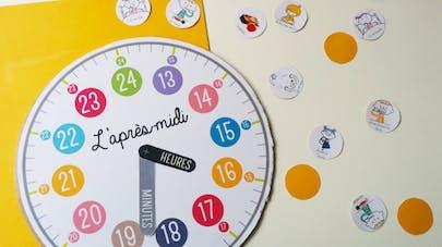 bricolage horloge