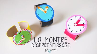 montre d'aprrentissage