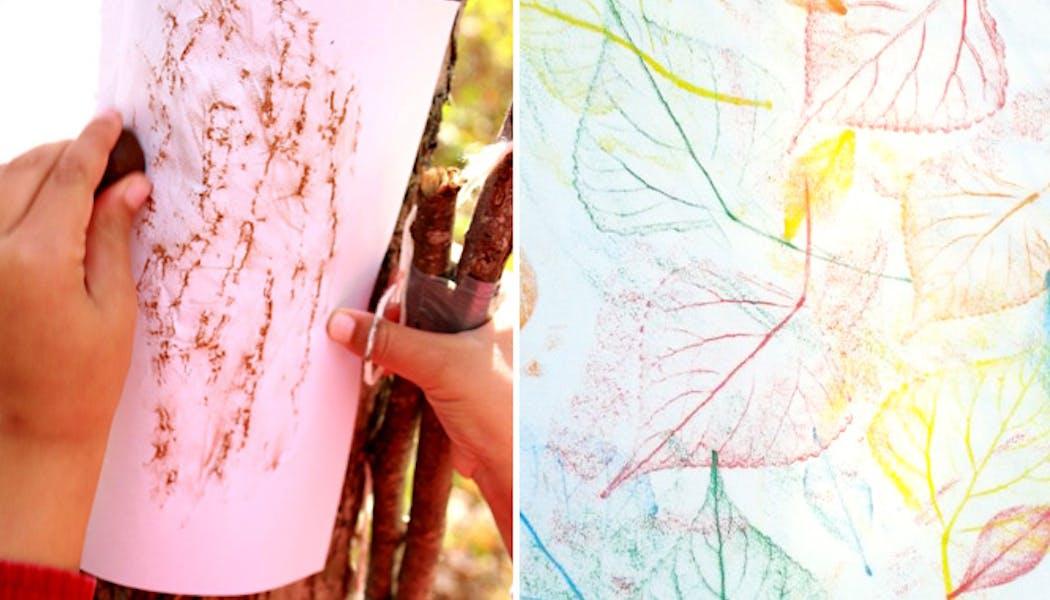 Faire des dessins texturés