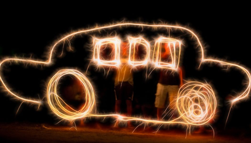 Faire du light painting