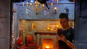 Fan d'Harry Potter, il transforme sa chambre et c'est incroyable !