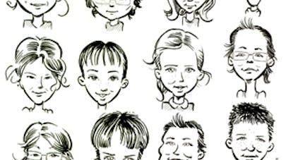 caricature - fiche de cours sur le portrait