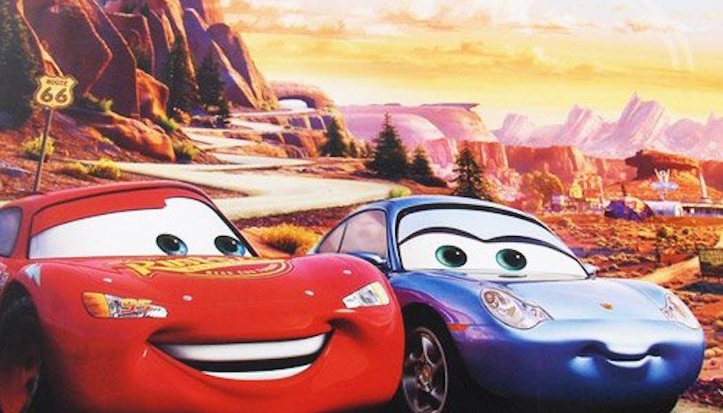 Flash McQueen et Sally (Cars)