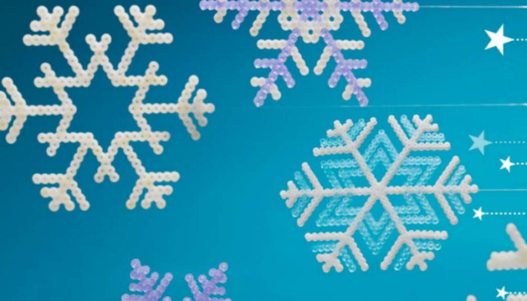 Flocons de neige en perles