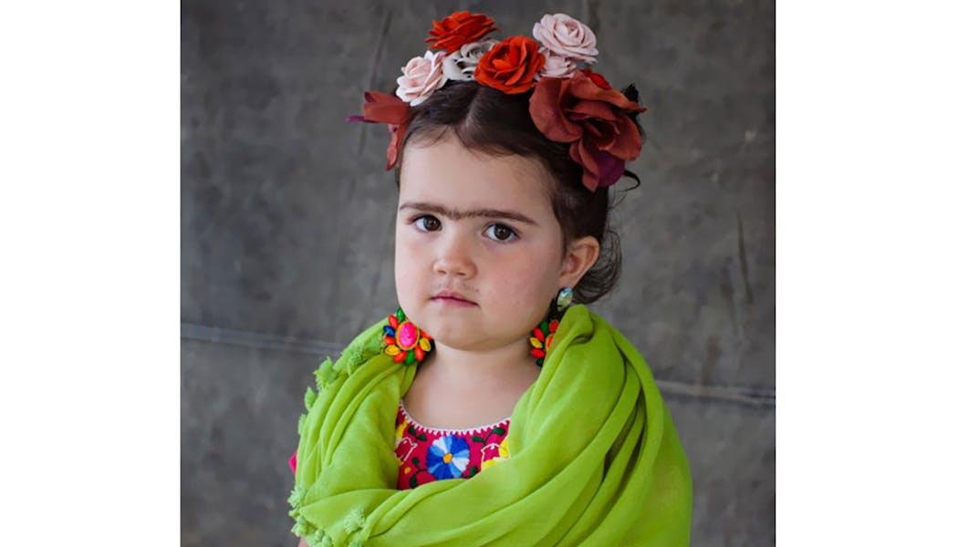 Frida Khalo déguisements costume Halloween         enfants