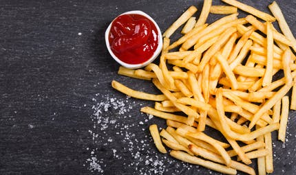 Frites ketchup ? Le gouter du 1er avril !