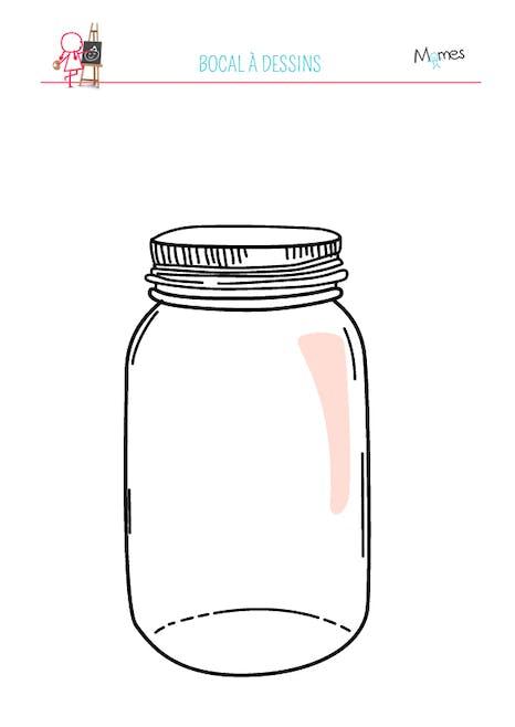 Gabarit bocal à dessin