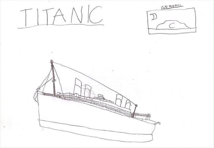 Ce Garcon Autiste A Construit La Plus Grande Replique Du Titanic En Lego Momes Net