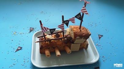 Le gâteau pirate