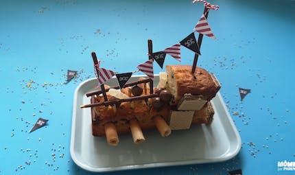 Gâteau anniversaire pirate