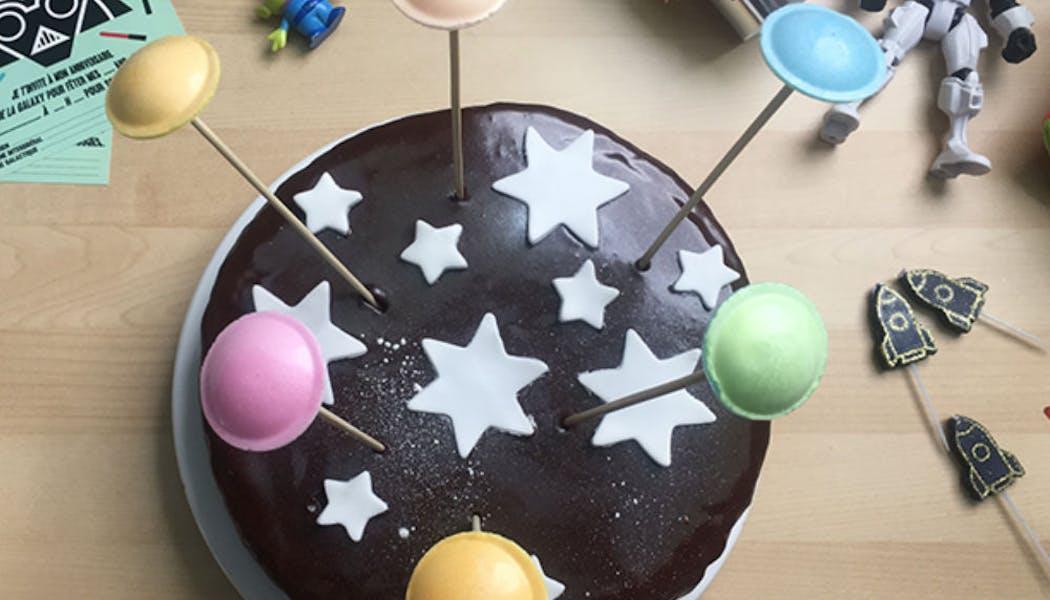 Gâteau « Astronaute »