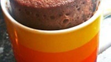 Gâteau au chocolat au micro-onde