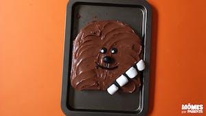 Gâteau Chewbacca (Star Wars)