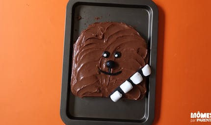 Gâteau Chewbacca (Star Wars)