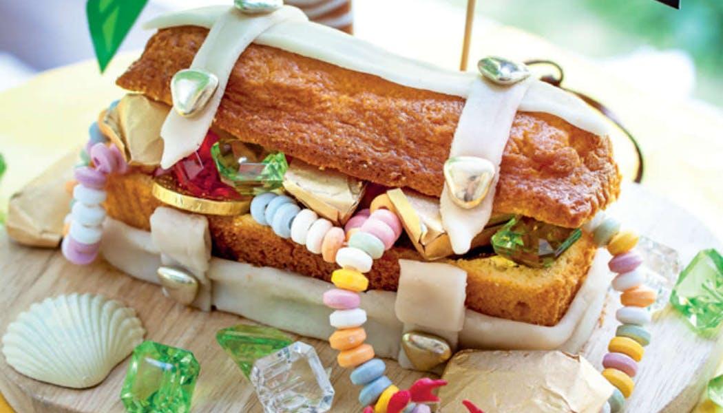 Gâteau « Coffre aux trésors »