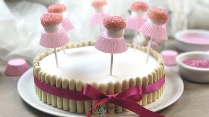 Gâteau d'anniversaire Danseuses