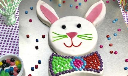 Gâteau d'anniversaire Lapin