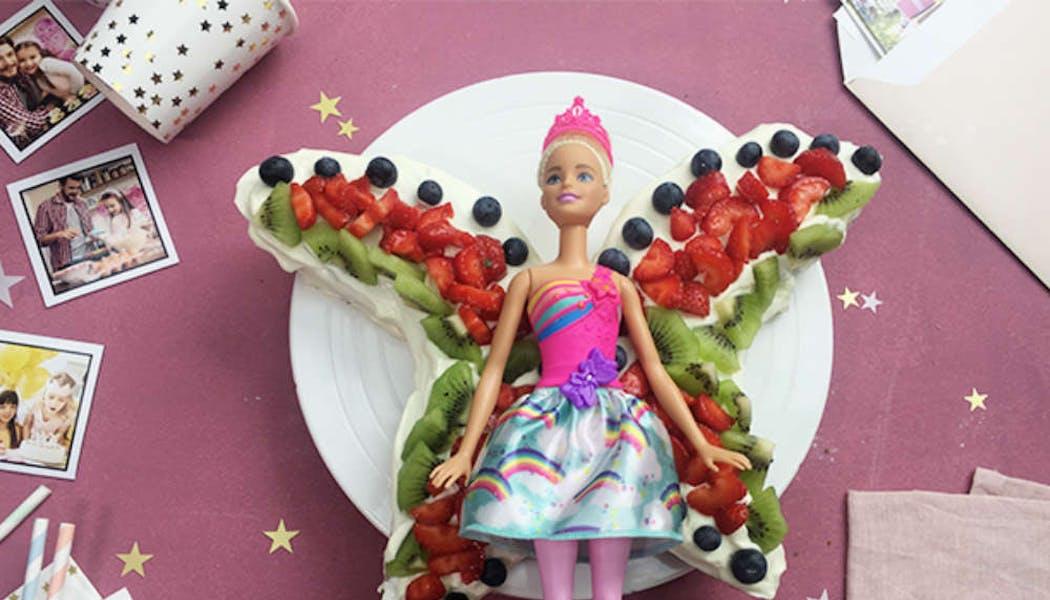 Gâteau de fée à la framboise (sans œufs)