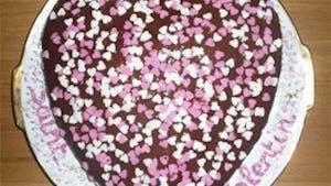 Gâteau de la Saint Valentin