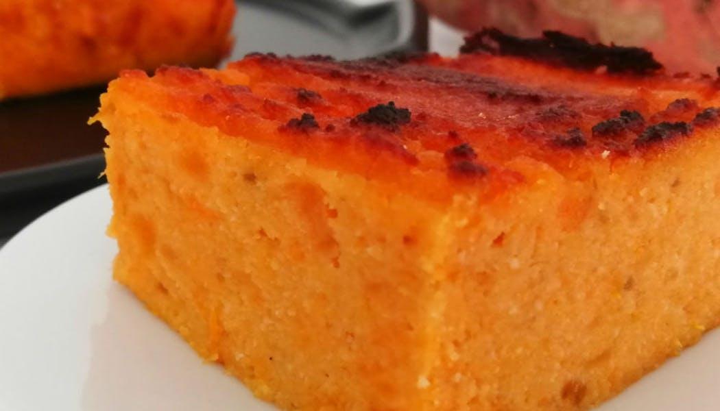 Gâteau de patates douces à la farine de coco