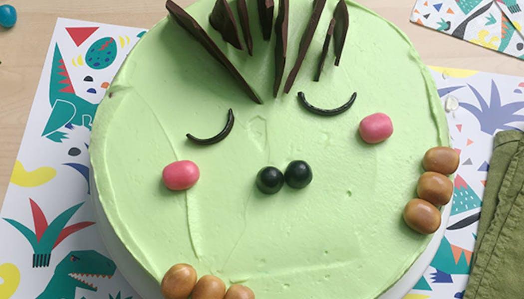 Gâteau « Dinosaure »