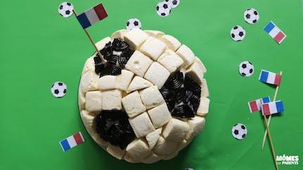 Gâteau d'anniversaire foot