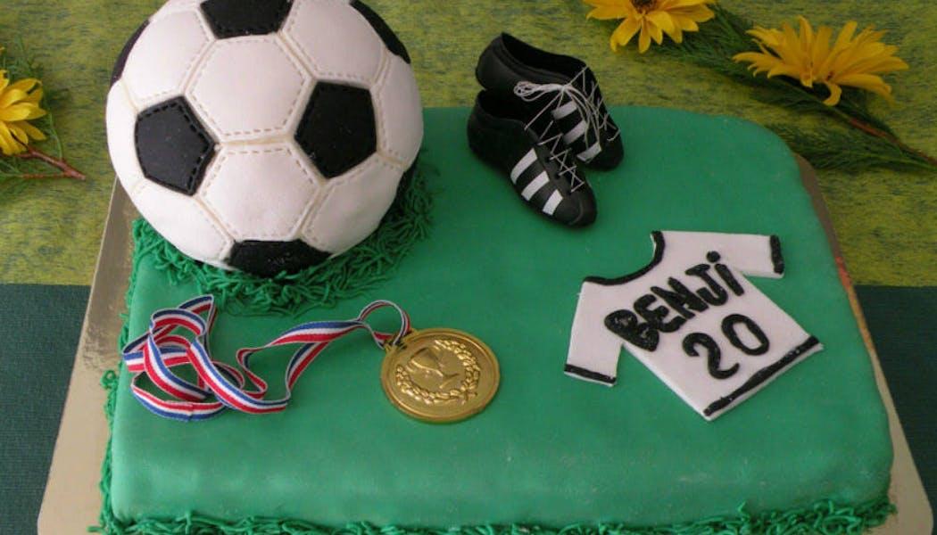 Gâteau «Football »