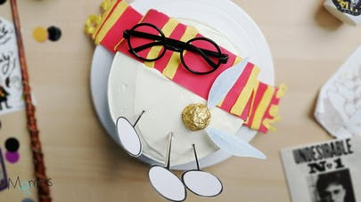 Gâteau Harry Potter