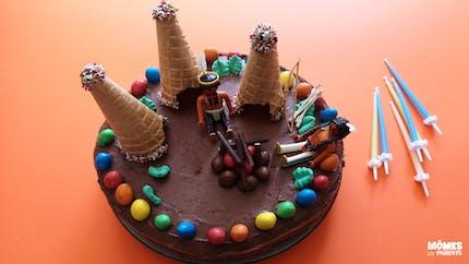 Gâteau d'anniversaire indien