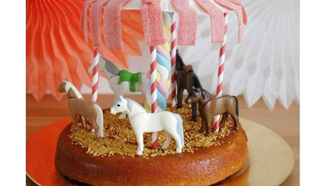Gâteau « Le carrousel »