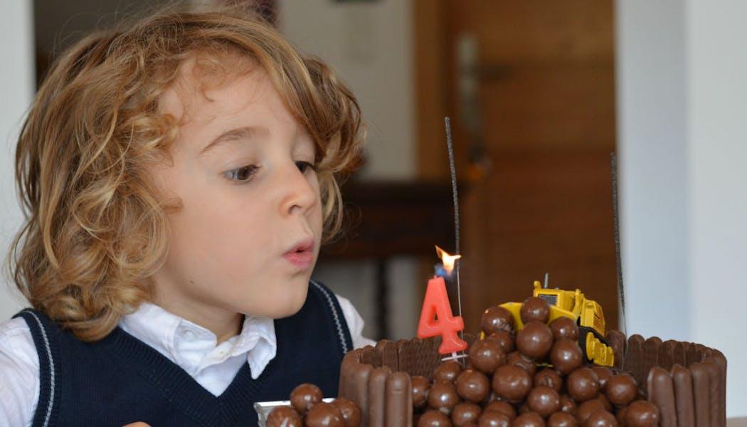 Gâteau « Le chantier »