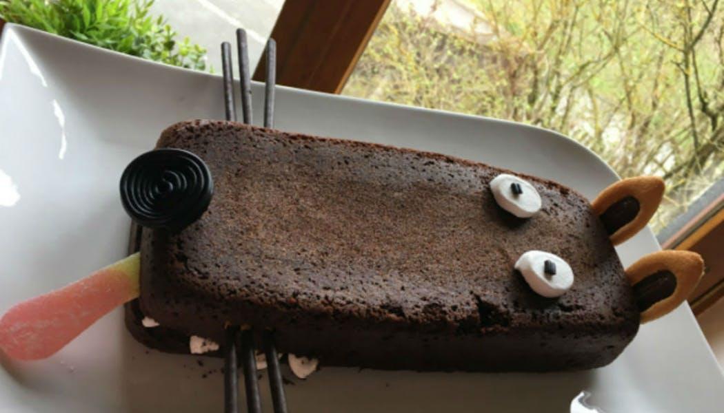 Gâteau « Loup au chocolat »