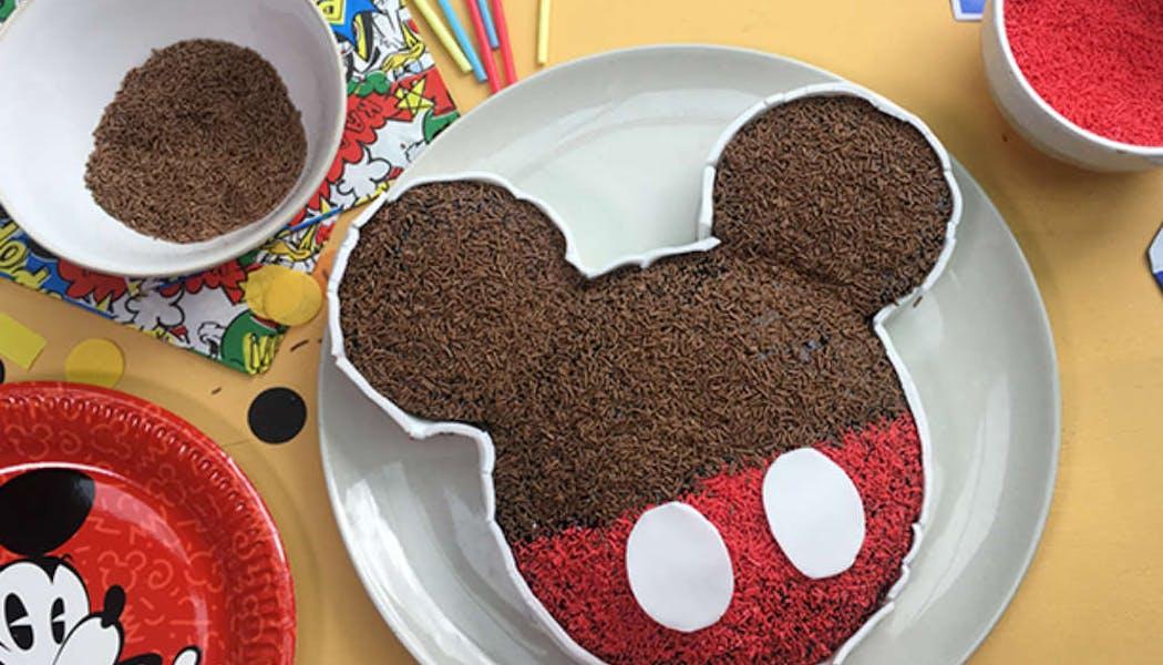 Gâteau Mickey (sans œuf ni produit laitier)