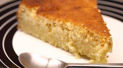 Gâteau moelleux au citron