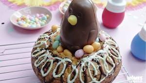 Gâteau nid de poule