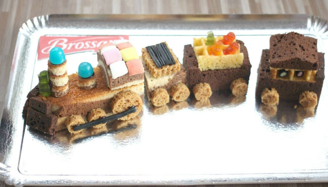 Gâteau « Petit train »