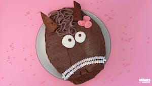 Gâteau poney