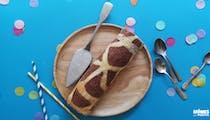 Gâteau roulé girafe