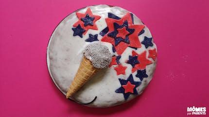 Gâteau chanteuse / chanteur