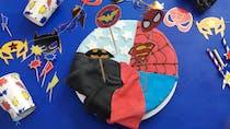 Gâteau super-héros (sans gluten)