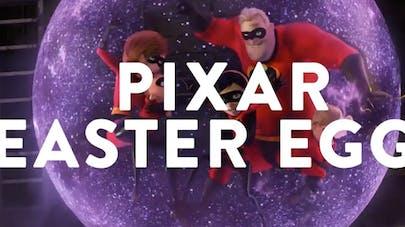vidéo pixar easter eggs confinement