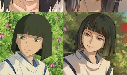 #Ghibliredraw challenge : ils redessinent les personnages Ghibli à leur façon !